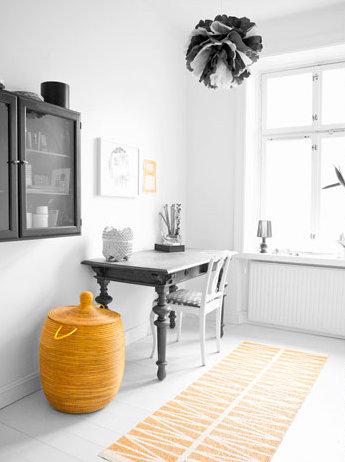 Brita Sweden Plastmatta gul