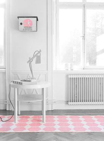 Brita Sweden Plastmatta rosa